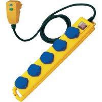 Bezpečnostní prodlužka s osobní ochranou Brennenstuhl 1159870816, 5 zásuvek, 230 V/AC, 5 m