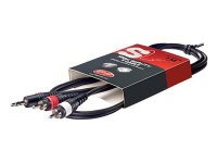Stagg SYC1/MPS2CM E, kabel 2x RCA/mini Jack stereo, 1 m
