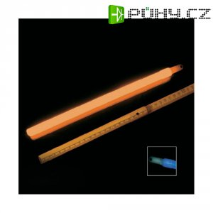 Neonová světelná tyčinka, 30 cm, oranžová