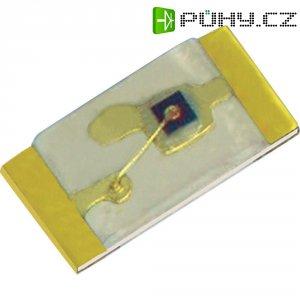 SMD LED Kingbright, KPG-1608SEKC-T, 30 mA, 2,05 V, 120 °, 200 mcd, oranžová