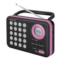 Rádio SENCOR SRD 220 BPK s USB/MP3
