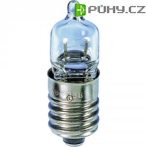 Miniaturní halogenová žárovka Barthelme, 01706070, E10, 6 V, 4,2 W