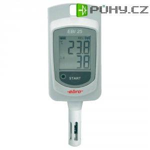 Teplotní/vlhkostní datalogger ebro EBI 25-TH, -30 až +60 °C