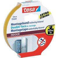 Montážní páska tesa® INDOOR (d x š) 5 m x 19 mm