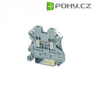 Řadová svorka Phoenix Contact UT 4 BU (3044115), šroubovací, 6,2 mm, modrá