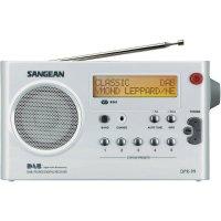 DAB+ rádio Sangean DPR-99+, FM, aku, bílá