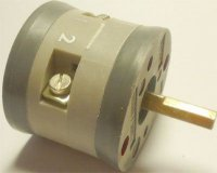Vačkový spínač VS10 1101 D4, 10A/380V~, 2 polohy 90°