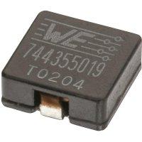 SMD vysokoproudá cívka Würth Elektronik HCI 7443551221, 22 µH, 6 A, 1365