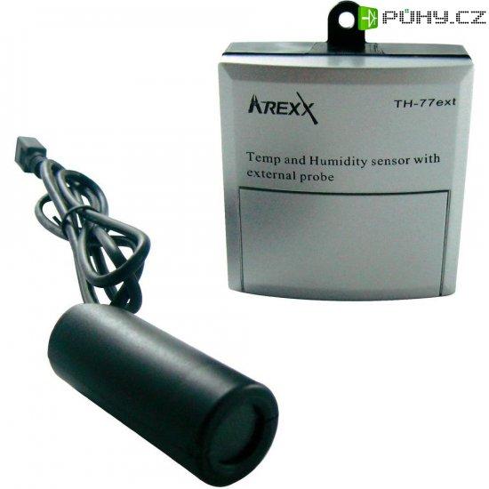 Bezdrátový senzor s externí sondou teploty a vlhkosti Arexx TSN-TH77 - Kliknutím na obrázek zavřete
