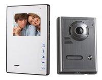 """OPTEX 990263 Barevný bezsluchátkový 4"""" dveřní videotelefon"""