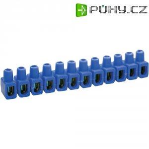 Svorka Kaiser, 610/bl, 4 - 10 mm², 12pólová, modrá