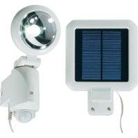 Solární LED svítidlo s detektorem pohybu, bílá