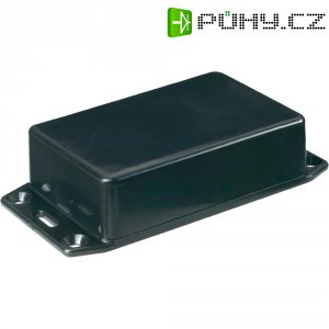 Euro pouzdro 1591LFLBK Hammond Electronics, (d x š x v) 85 x 56 x 39 mm, černá