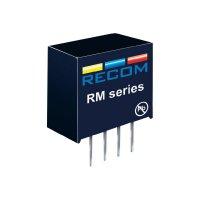 DC/DC měnič Recom RM-1205S, vstup 12 V/DC, výstup 5 V/DC, 50 mA