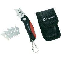 Skládací univerzální mini nůž TOOLCRAFT 2 K