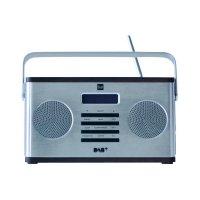 DAB+ rádio Dual DAB 10S, FM, stříbrná