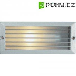 Venkovní vestavné svítidlo Basetech 3101, E27, 40 W, stříbrná/šedá