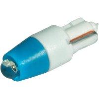 LED žárovka W2x4.6d CML, 1511A35B3, 24 V, 480 mcd, modrá