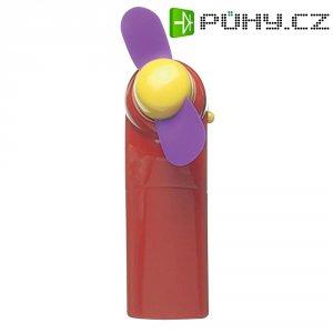 Ruční ventilátor Ampercell Handy Fan 00880, červená