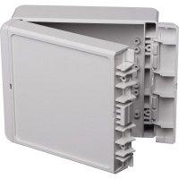 Univerzální nástěnné pouzdro ABS Bopla 96033225, (d x š x v) 125 x 151 x 60 mm, šedá