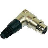 Kabelový konektor zahnutý XLR (F)