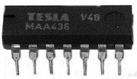 MAA436 obvod pro řízení tyristorů a triaků