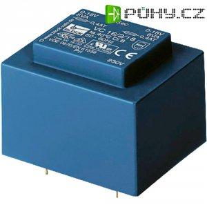 Transformátor do DPS Block EI 48/16,8, 230 V/2x 12 V, 2 x 416 mA, 10 VA