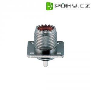 UHF konektor, 50 Ω, Delrin, PTFE, DAP, zásuv. vest. vertik.