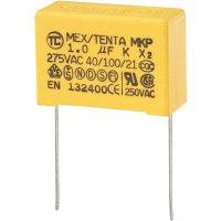 Foliový kondenzátor MKP, 1 µF, X2 275 V/AC, 10 %, 32 x 11 x 20 mm
