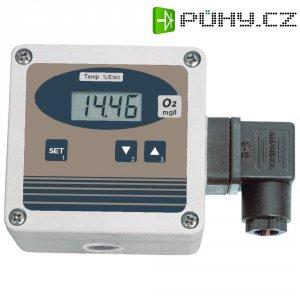 Převodník koncentrace kyslíku v kapalinách vč. elektrody, Greisinger OXY 3610, 112360