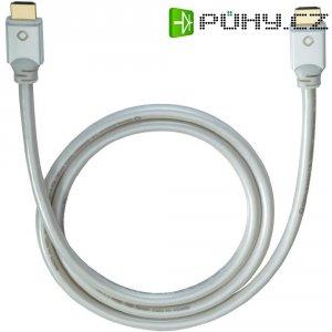 Oehlbach High Speed HDMI kabel s Ethernetem, White Magic, 1,7 m, bílý