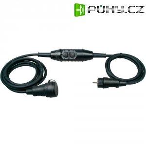Bezpečnostní prodlužovací kabel Kopp PRCD-S, 1,5 m, IP44, černá
