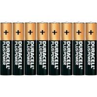 Alkalická baterie Duracell Plus, typ AAA, sada 8 ks