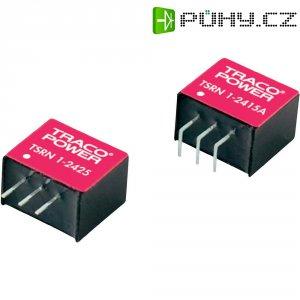 DC/DC měnič TracoPower TSRN 1-2415, SIL, 1 A, 24 V/DC / 1,5 V/DC, 77 %