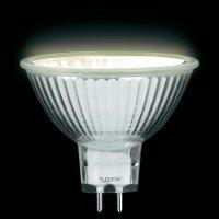 Halogenová žárovka Sygonix, GU5.3, 35 W, 49 mm, stmívatelná, teplá bílá