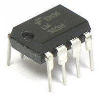 LM393N 2x komparátor DIL8 /BA10393/