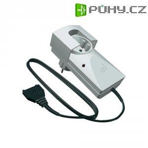 Zásuvkový detektor úniku vody s externím senzorem Schabus Aquastopp SHT 216 300260, napájení ze sítě
