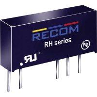 DC/DC měnič Recom RH-0512D (10000366), vstup 5 V/DC, výstup ±12 V/DC, ±41 mA, 1 W