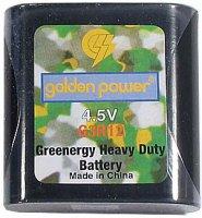 Baterie 4,5V (3R12) plochá, HEAVY DUTY Zn-C