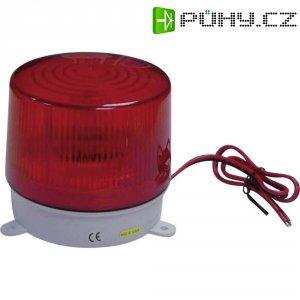 Alarmový stroboskop Xenon 752240, 75 bliknutí/min, červená