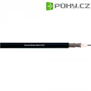 Koaxiální kabel LappKabel RG 62 A/U (2170008), stíněný, černá, 1 m