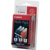 Cartridge Canon BCI-6, 4706A029, žlutá/cyan/magenta