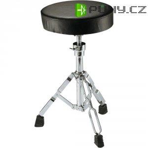 Stolička k bicím, černá/stříbrná