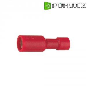 Kulatá dutinka izolační Vogt 3915, 0,5 / 1 mm², Ø: 4 mm, červená