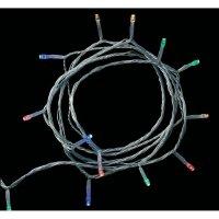 Vnitřní vánoční řetěz Polarlite, 48 LED, 9,4 m, barevná