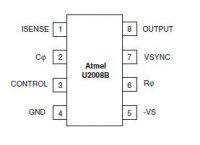 U2008B-MFPY SMD řízení motoru SOP08