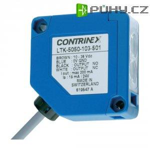 Reflexní optická snímač Contrinex LTK-5050-103-501, kabel 3 m, dosah 300 mm