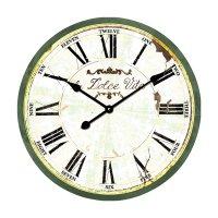 Analogové nástěnné hodiny Retro Techno Line WT 1512, Ø 50cm, Dolce Vita
