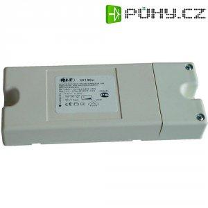 Elektronický transformátor plochý, W75, 20 - 75 VA, 230 V ⇔ 11,5 V, černá