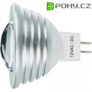 LED žárovka, GU5.3, 3 W, 12 V, 55 mm, teplá bílá